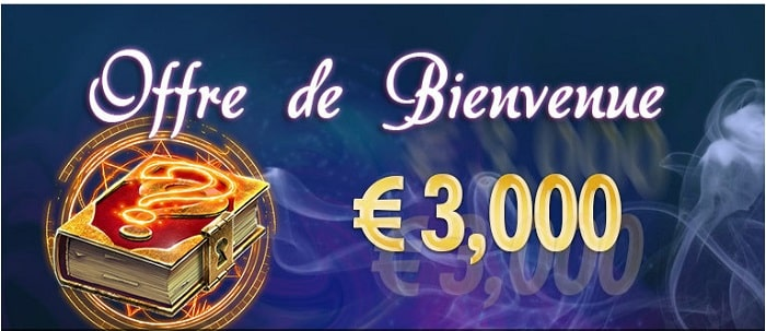 Bonus de bienvenue de Magical spin casino