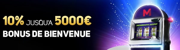 Bonus de bienvenue de Magicazz casino