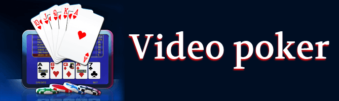 Le vidéo poker en ligne