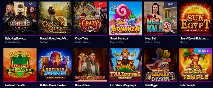 L'offre de jeu de Luck8 casino