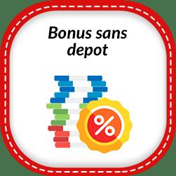 Bonus sans dépôt - Les meilleurs bonus de bienvenue